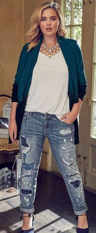 Coolest women denim trends idea (98)