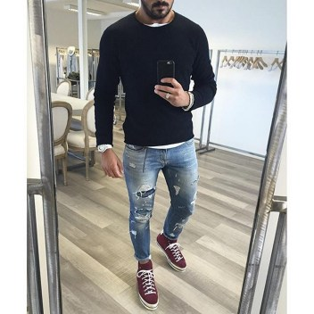 Inspiring wear shoes with jeans (75)