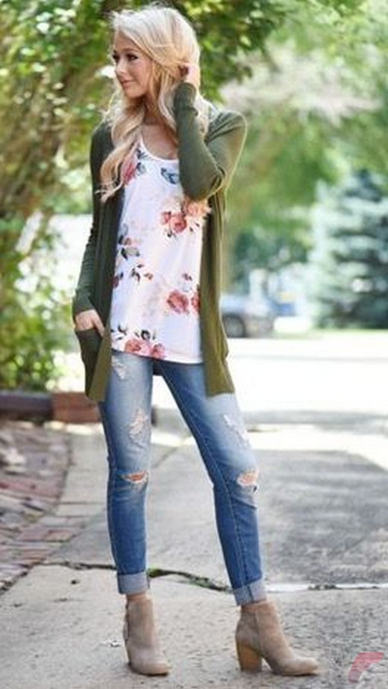 Women cardigan outfit (5)