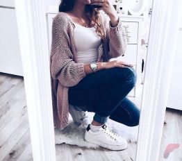 Women cardigan outfit (54)