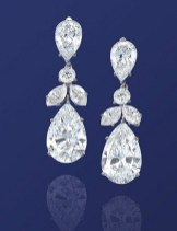 Earrings diamond wedding brides (111)