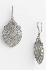 Earrings diamond wedding brides (125)