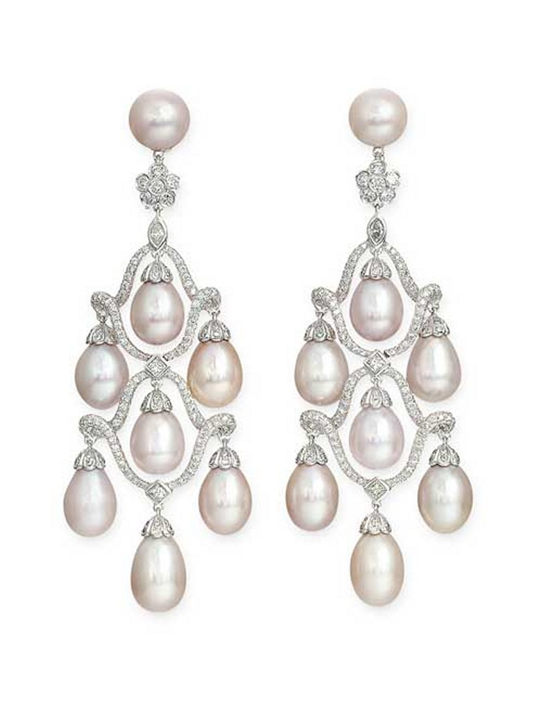 Earrings diamond wedding brides (24)