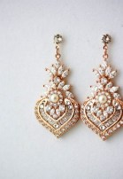 Earrings diamond wedding brides (80)