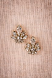 Earrings diamond wedding brides (95)