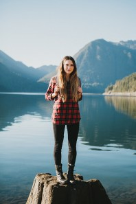 Ways to wear flanel for women (1)
