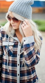 Ways to wear flanel for women (106)