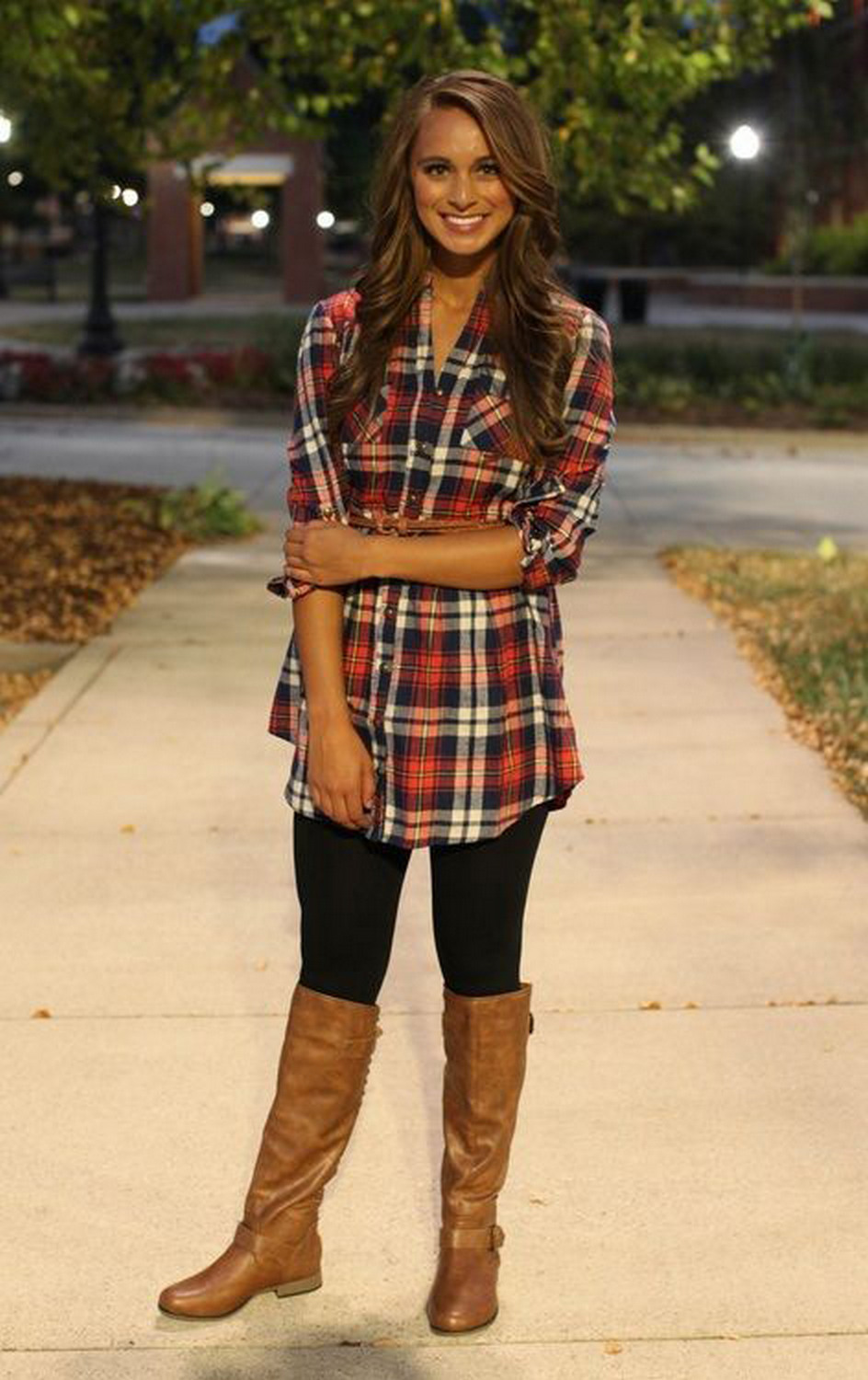 Ways to wear flanel for women (107)