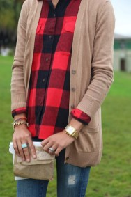 Ways to wear flanel for women (110)
