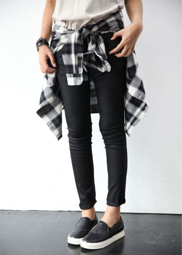Ways to wear flanel for women (112)