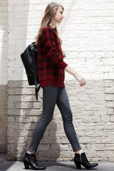 Ways to wear flanel for women (113)