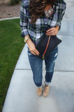 Ways to wear flanel for women (118)
