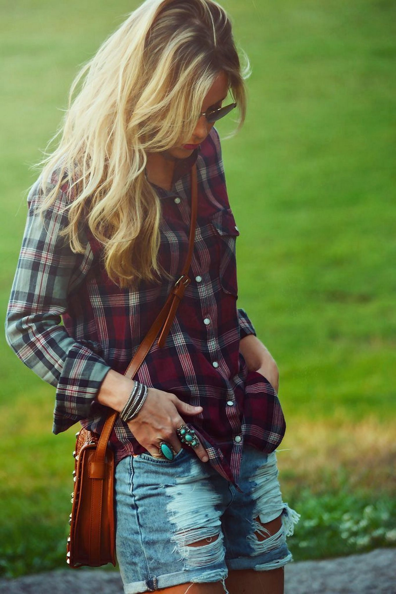 Ways to wear flanel for women (20)