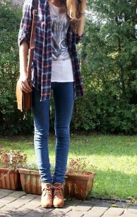 Ways to wear flanel for women (27)