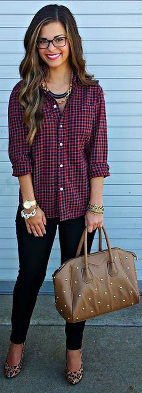 Ways to wear flanel for women (28)