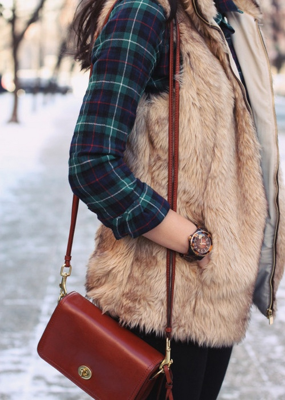 Ways to wear flanel for women (4)