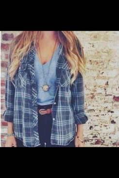 Ways to wear flanel for women (59)