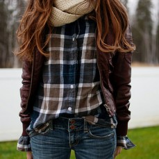 Ways to wear flanel for women (72)