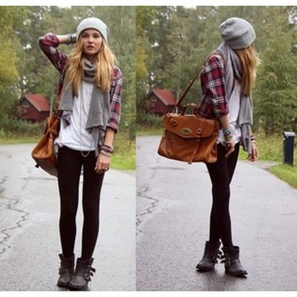 Ways to wear flanel for women (74)