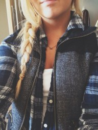 Ways to wear flanel for women (77)