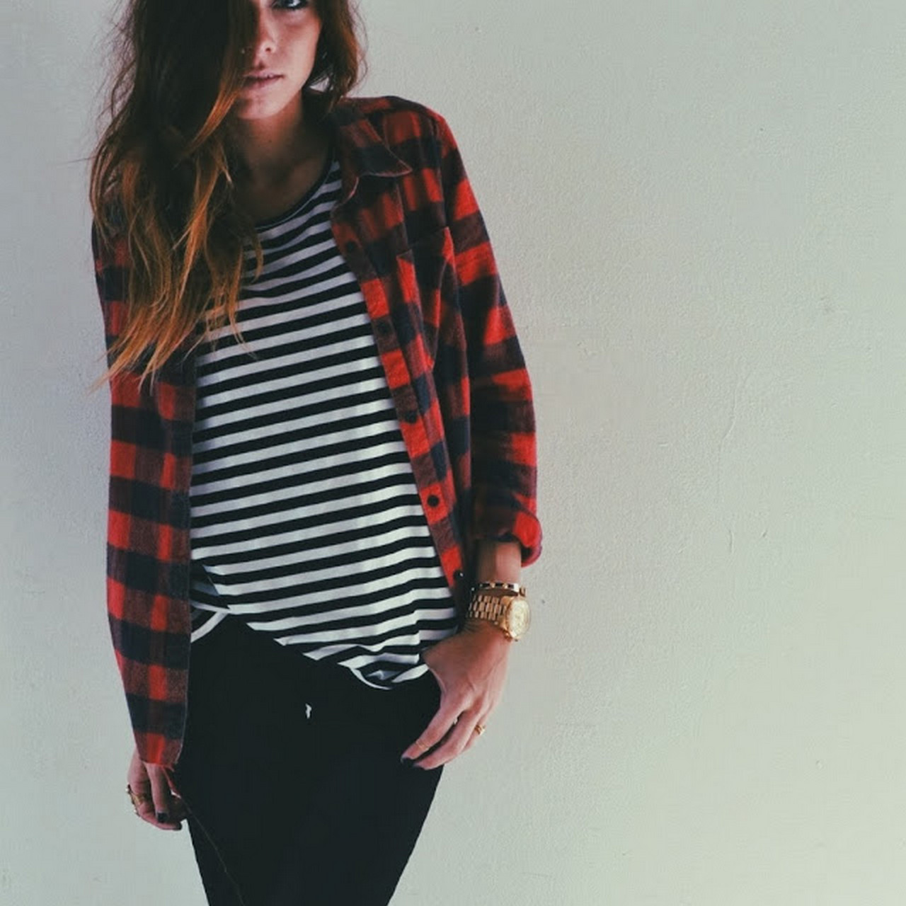 Ways to wear flanel for women (83)