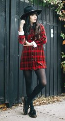 Ways to wear flanel for women (95)