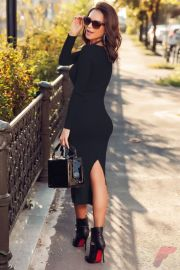 Awsome casual midi dress152