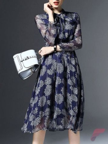 Awsome casual midi dress157