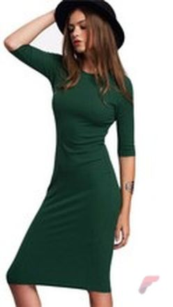 Awsome casual midi dress176