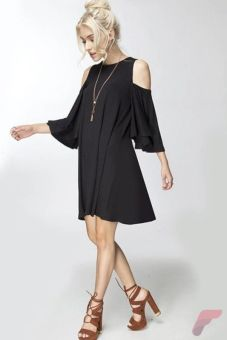 Awsome casual midi dress190