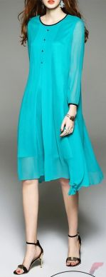 Awsome casual midi dress199