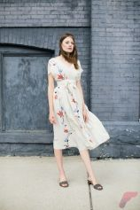 Awsome casual midi dress49