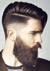 Best men short beard and mustache style 23