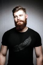 Best men short beard and mustache style 30