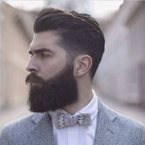 Best men short beard and mustache style 31