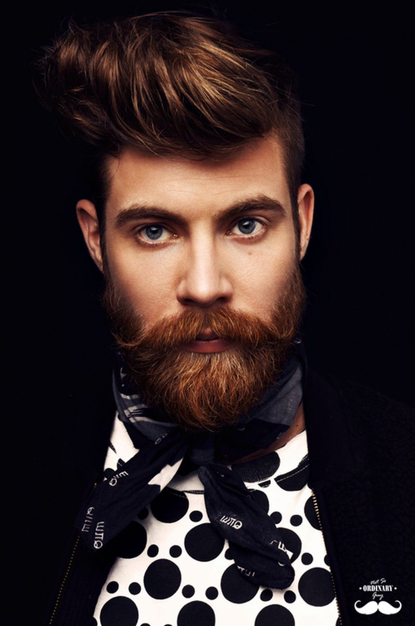 Best men short beard and mustache style 58