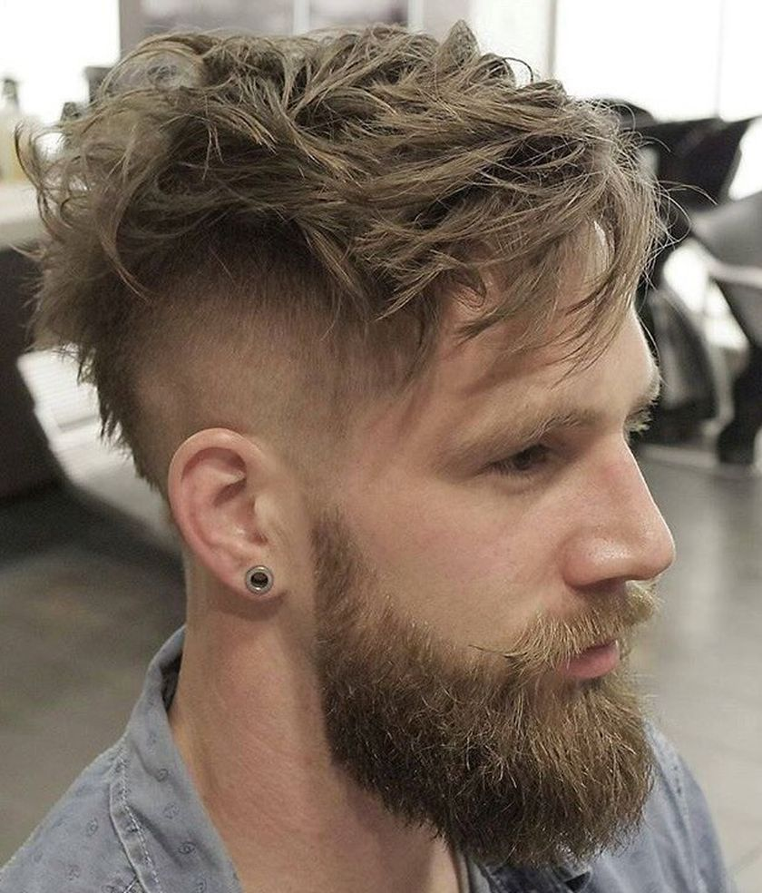 Best men short beard and mustache style 7