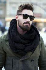 Best men short beard and mustache style 74