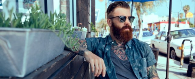 80 Awesome Inspirations Men Short Beard and Mustache Style that You Must Try