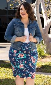 Best summer 2017 outfit for plus size 54