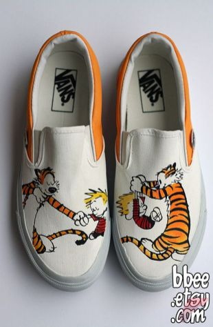 Custom painted vans shoes 15