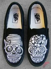 Custom painted vans shoes 20