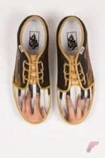 Custom painted vans shoes 30