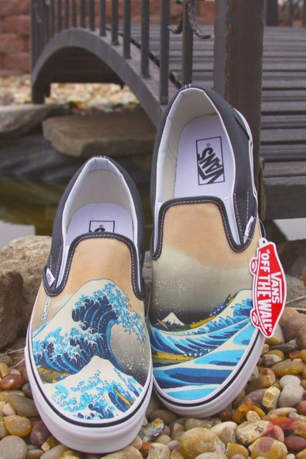 41c14949f588 80+ Idea to Custom Painted your Vans Shoes - Fashion Best