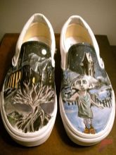 Custom painted vans shoes 55