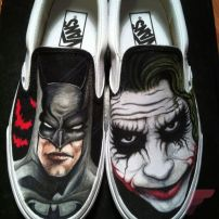Custom painted vans shoes 72