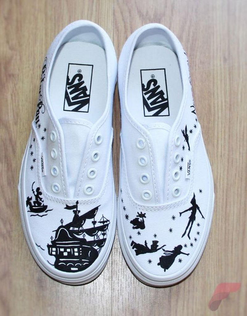 Custom painted vans shoes 77