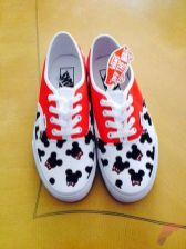 Custom painted vans shoes 79
