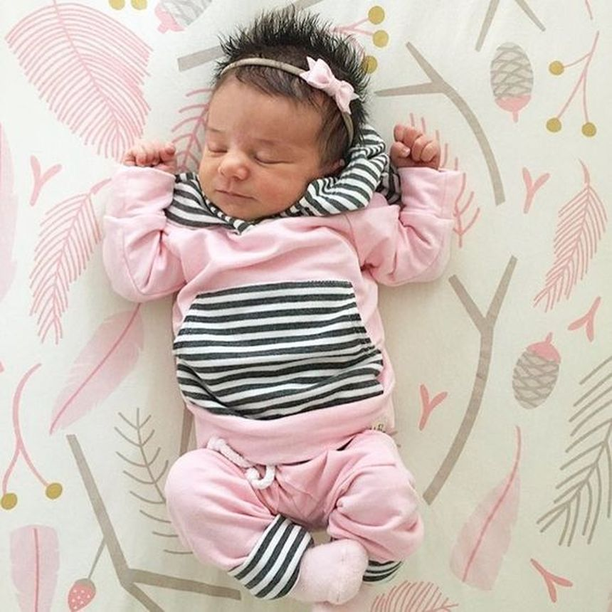 Cutest baby girl clothes outfit 6