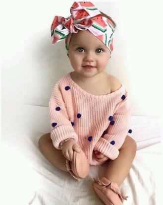 Cutest baby girl clothes outfit 86